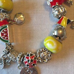 Jewelry - June Bug Summer charm bracelet